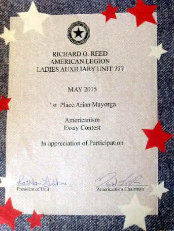 americanism essay contest american legion